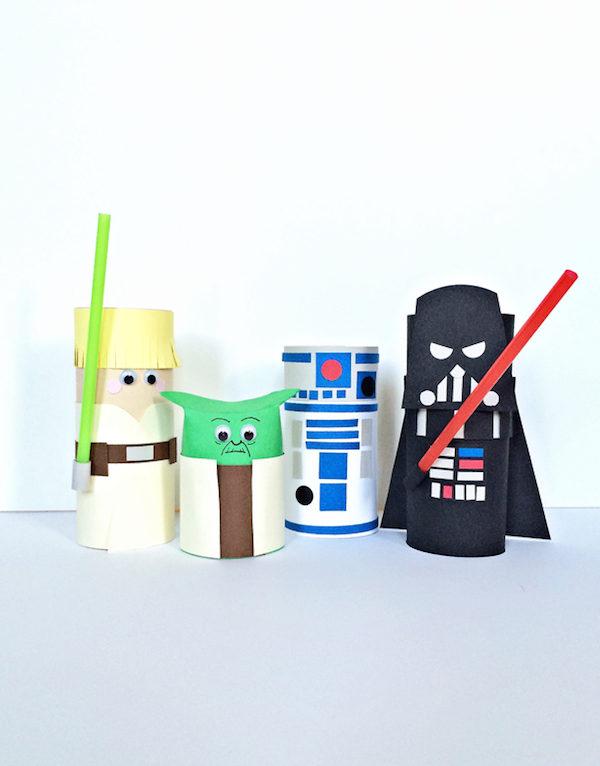 Worksheet. Manualidades para nios de Star Wars  Pequeocio