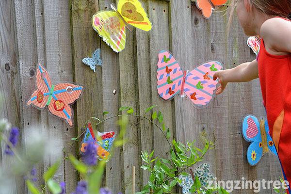 7 manualidades para ni os de mariposas pequeocio for Actividades para jardin infantil