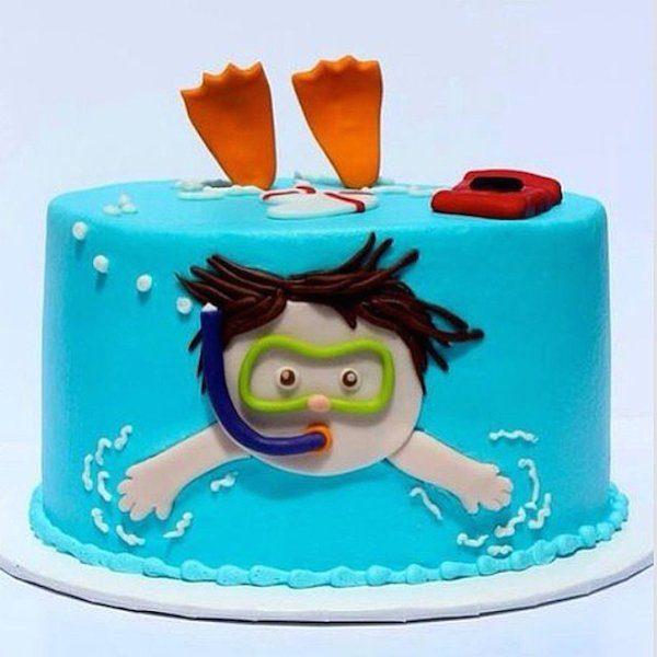 6 tartas de cumplea os originales para ni os pequeocio for Decoracion tartas infantiles