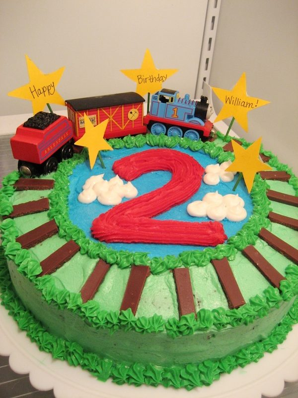 Cumpleaños tren Thomas