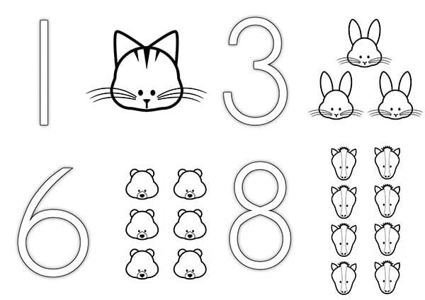 Manualidades infantiles para aprender a contar | Pequeocio.com