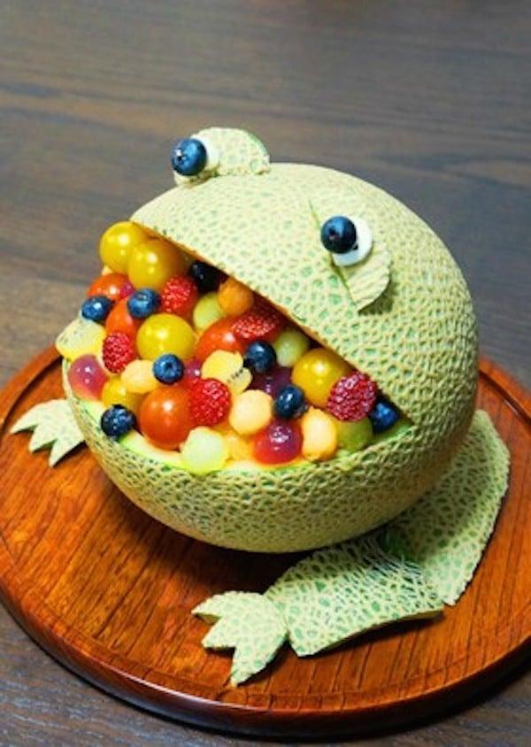 Recetas infantiles con fruta