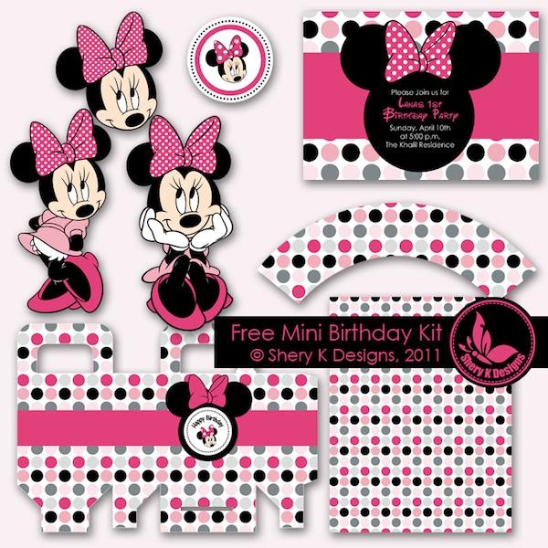 Decoracion Minnie Rosada ~ Ideas para fiestas infantiles de Mickey y Minnie  PequeOcio
