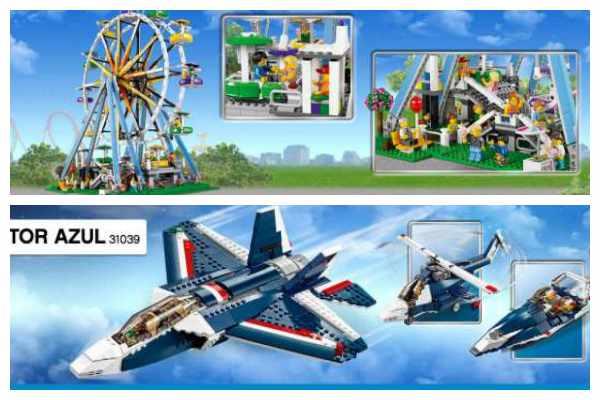 Regalos para niños: Lego Creator