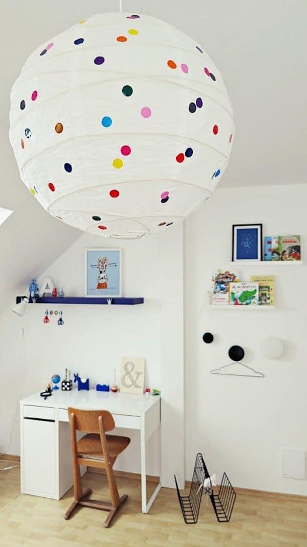 4 l mparas infantiles f ciles y originales pequeocio for Lamparas pared infantiles