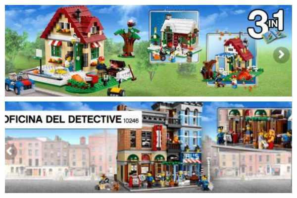 Lego Creator, juguetes educativos
