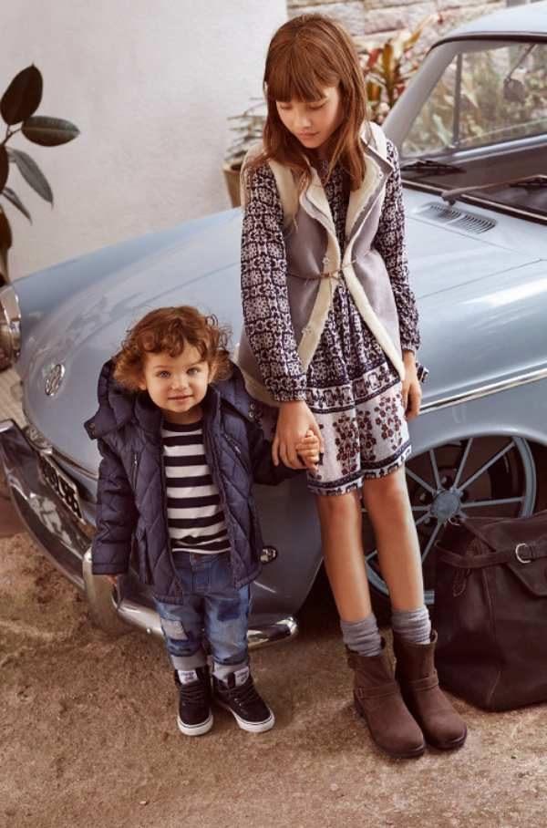 Moda para niños de Mango, otoño 2015