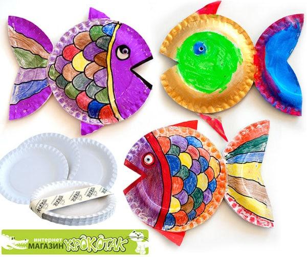 5 manualidades infantiles con platos de papel pequeocio - Manualidades pequeocio ...