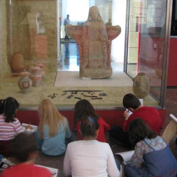Madrid con niños: Museo Arqueológico