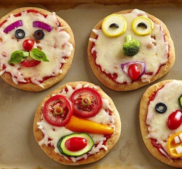 4 Recetas De Pizza Divertidas Y Originales Pequeociocom