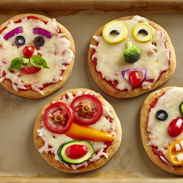 comidas saludables para niños de dos años