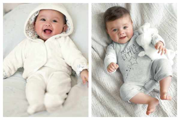 Moda para bebés de C&A