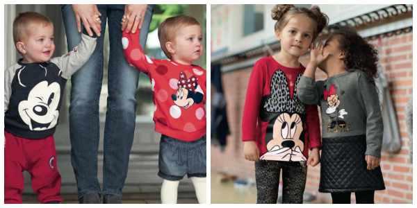 C&A, moda para niños divertida