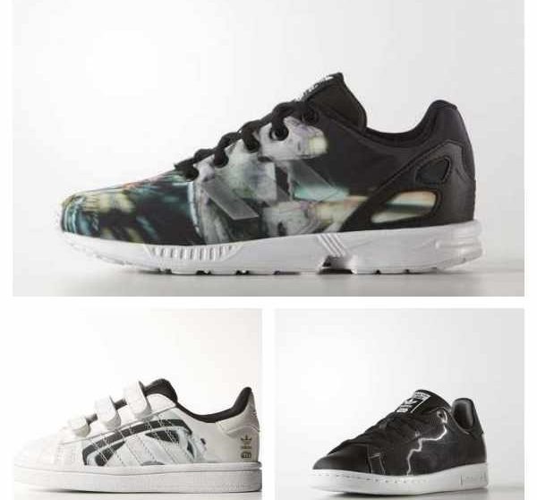 big sale 41622 ecf0e Descubre las nuevas zapatillas Adidas Star Wars