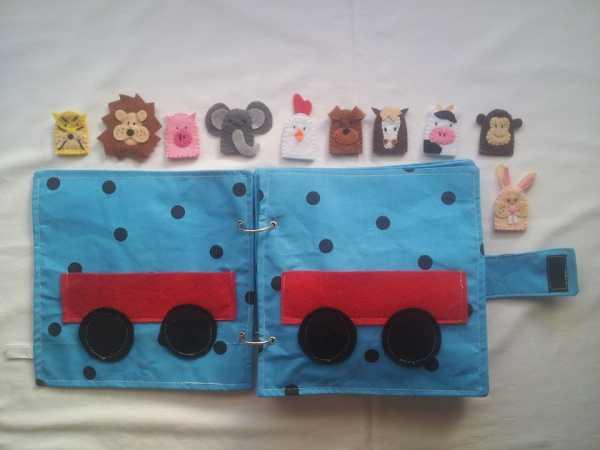 LIbros artesanales para niños