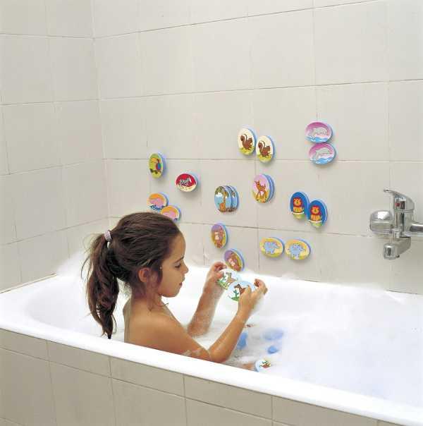 Educación: juguetes para el baño que enseñan