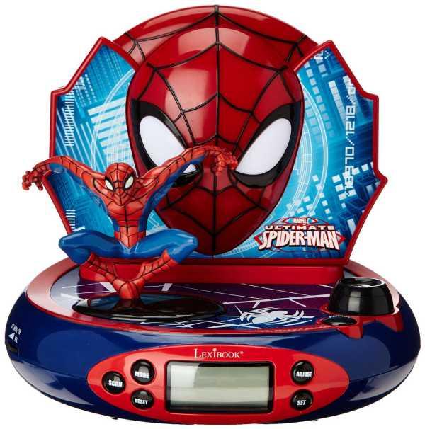 Despertador de Spiderman, despertadores para niños