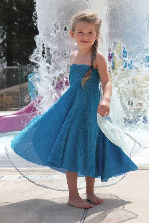 Disfraz paso a paso de Elsa, Frozen