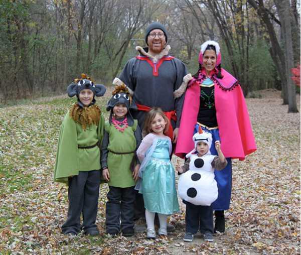 Disfraces para familias: Frozen