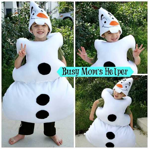Cómo hacer un disfraz de Olaf
