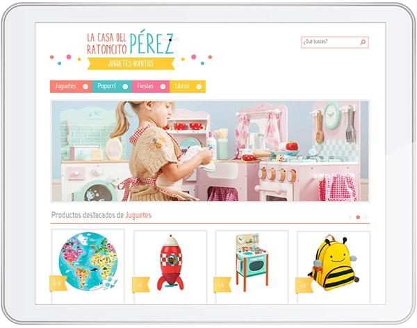 tienda online para niños