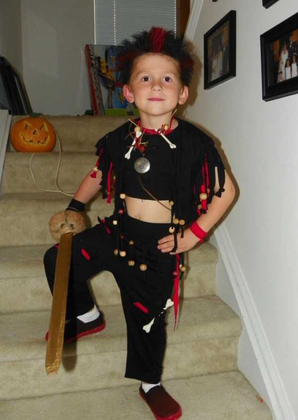 Disfraces fáciles para niños: Ruffio