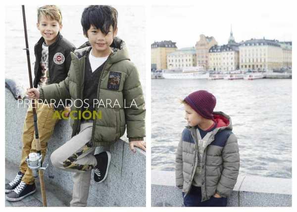 Moda para niños de Benetton 2015