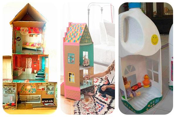 12 casas de mu ecas para hacer en casa Manualidades con materiales de casa