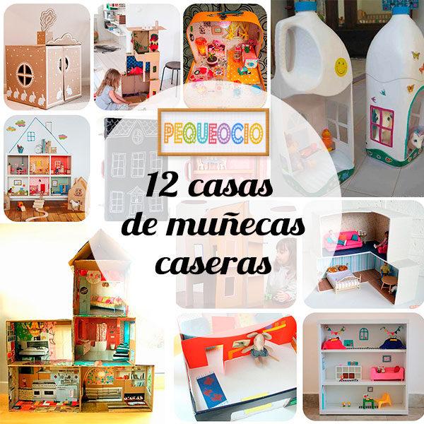12 casas de mu ecas para hacer en casa pequeocio - Como hacer muebles para casa de munecas ...