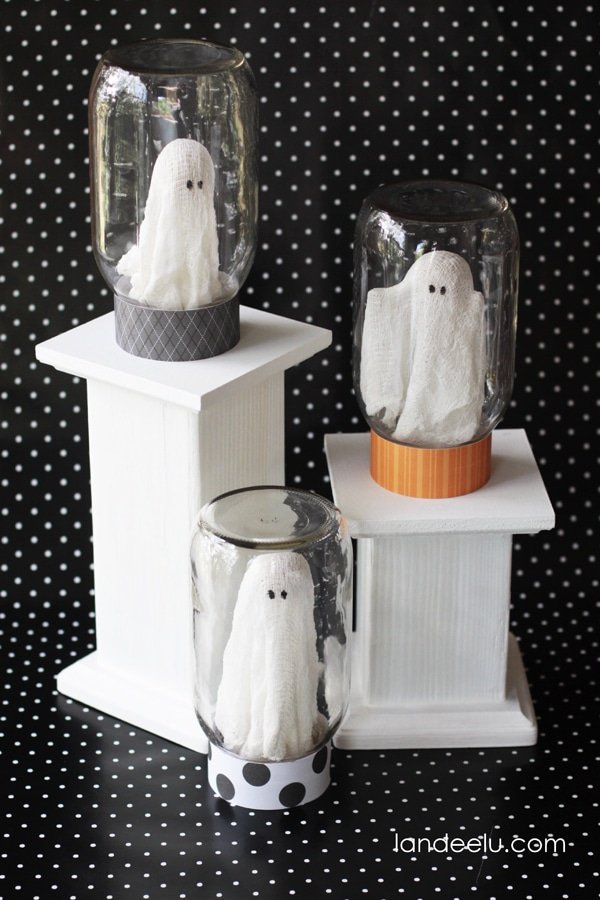 decoracion Halloween fantasmas
