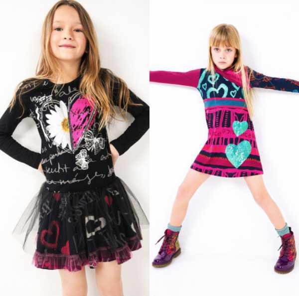 Moda para niños de Desigual, otoño 2015