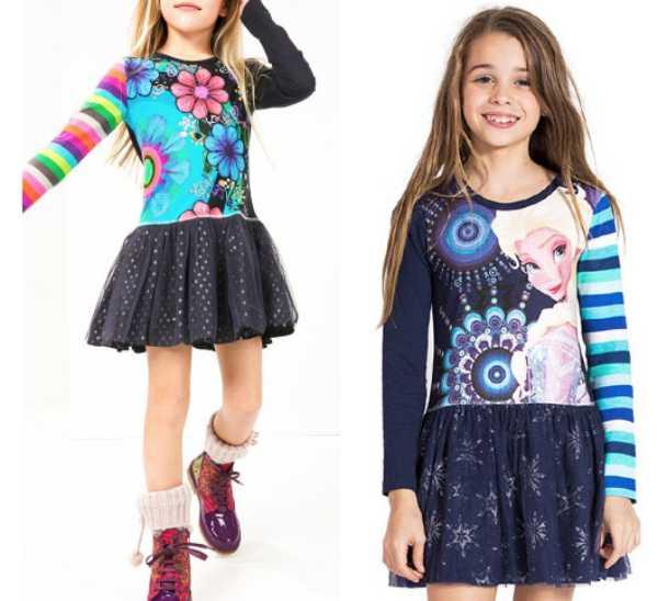 Desigual Niños, moda invierno 2016