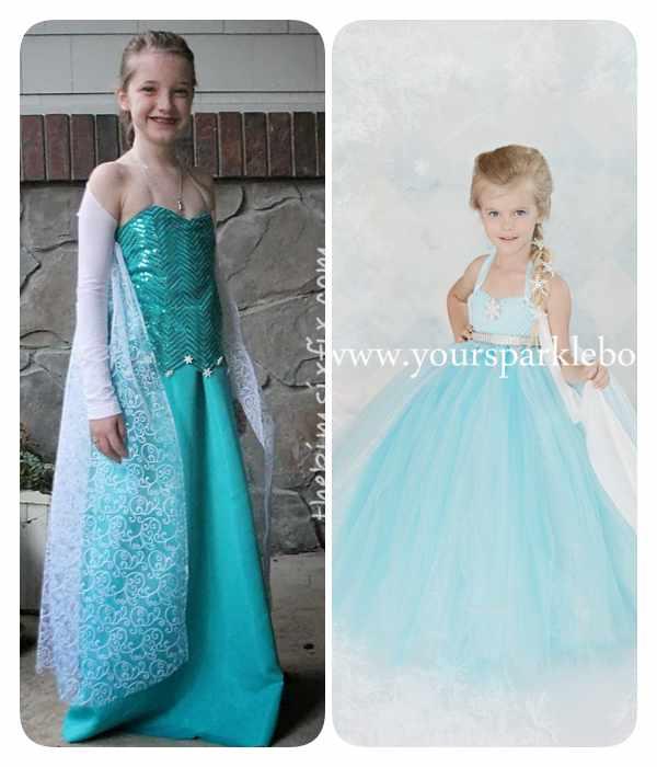 disfraz casero Elsa de Frozen