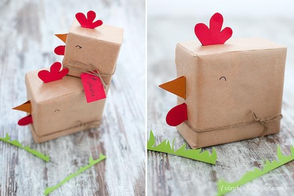 5 modos divertidos de envolver regalos pequeocio for Regalos originales de manualidades