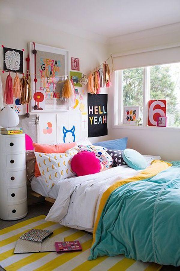 Habitaciones juveniles con mucho estilo pequeocio for Habitaciones para ninas y adolescentes