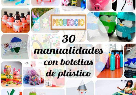 Manualidades recicladas con botellas