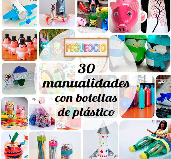 30 Manualidades Recicladas Con Botellas Pequeociocom