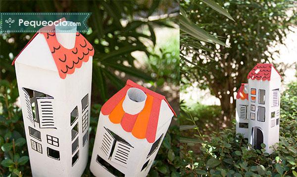 manualidades carton reciclado