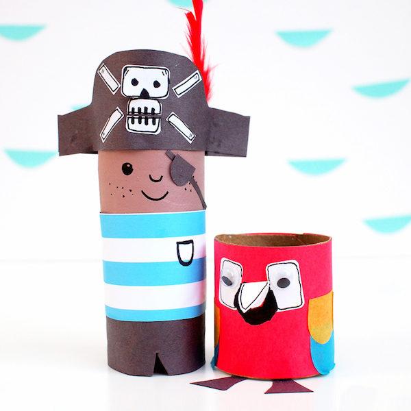 5 manualidades infantiles para piratas pequeocio for Manualidades decoracion infantil