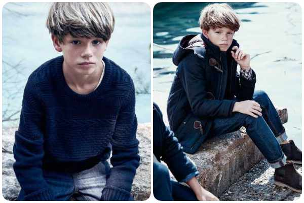Massimo Dutti Kids, moda invierno 2016