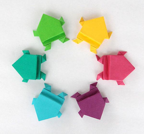 Origami 5 Proyectos Fáciles Para Niños Pequeociocom