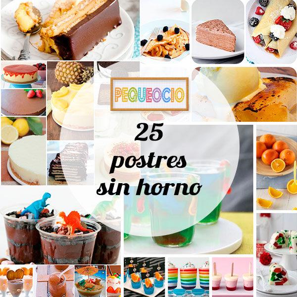 25 postres sin horno pequeocio - Blog de postres faciles ...
