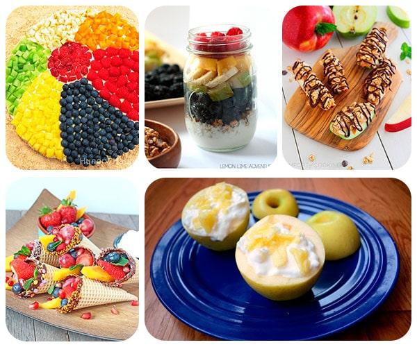 Recetas fáciles con fruta