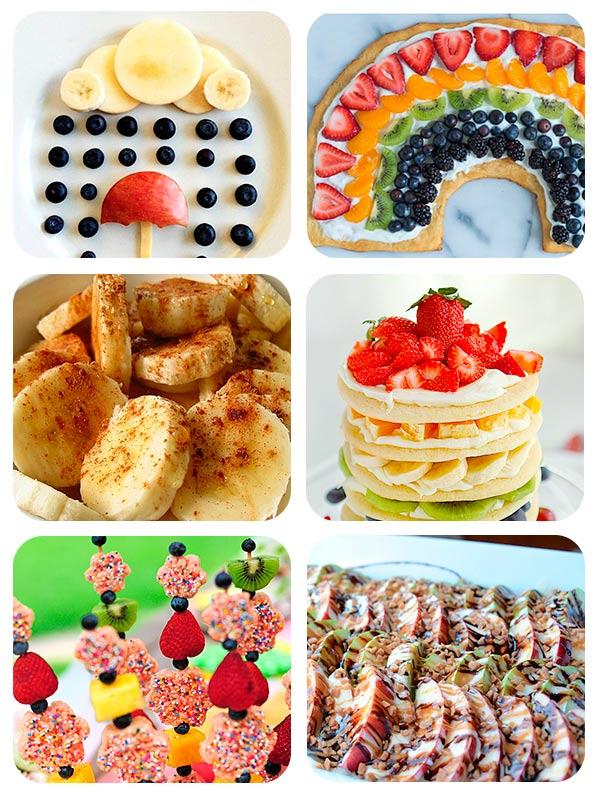 64 Recetas Con Fruta Para Niños Pequeocio