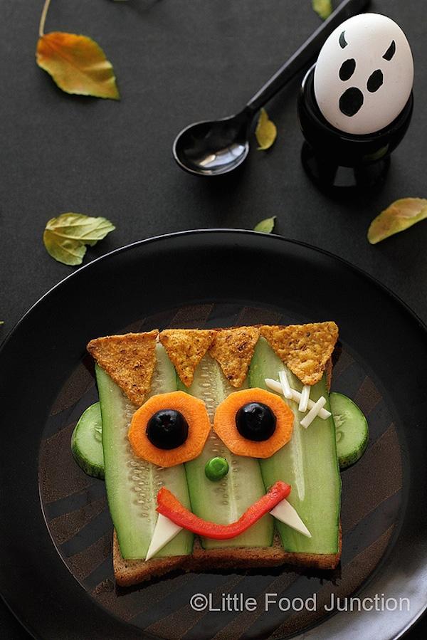 Recetas de Halloween saludables