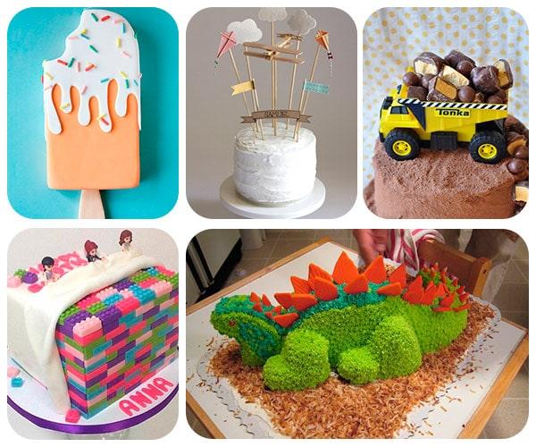 45 tartas de cumplea os originales pequeocio - Fotos originales para hacer en casa ...