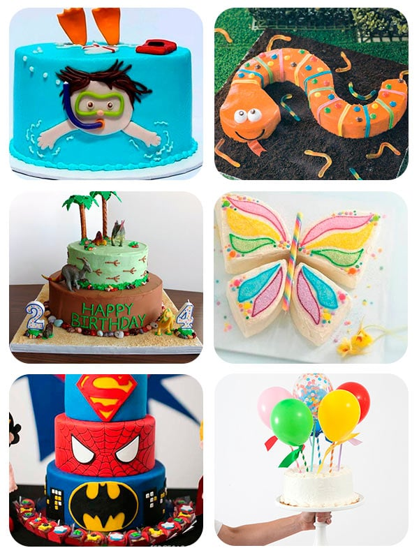 Tartas de cumpleaños originales
