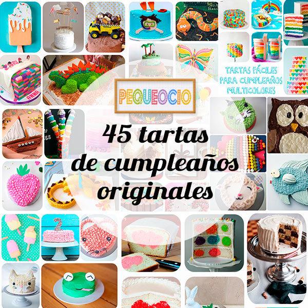 45 tartas de cumplea os originales pequeocio - Actividades cumpleanos adultos ...