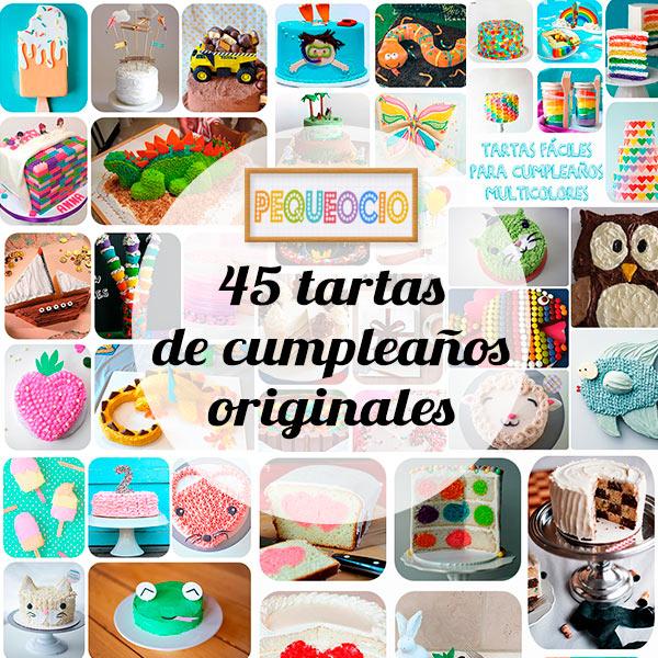 45 Tartas De Cumpleanos Originales Pequeociocom - Tartas-de-cumpleaos-sencillas-y-originales