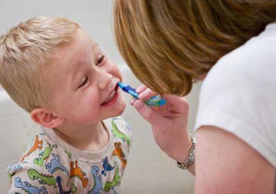 Consejos sobre la higiene bucal infantil